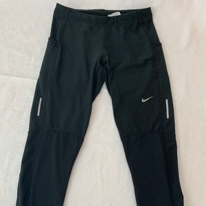Nike Dry-Fit Running Pants Size M - Black